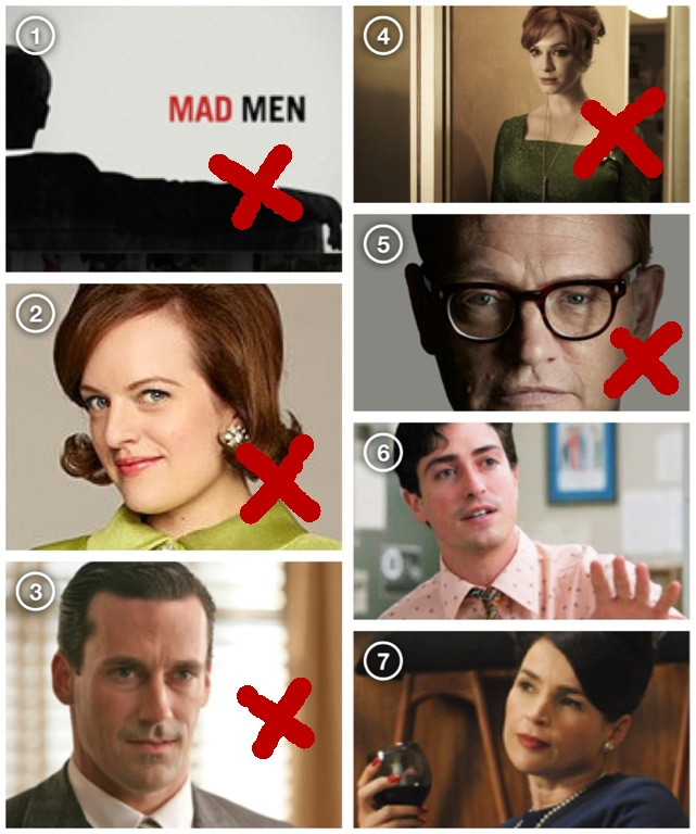 Mad Men Emmy 2012