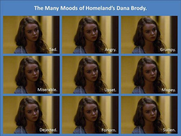 dana faces homeland
